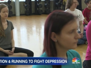 How Meditation and Running Can Help Fight Depression