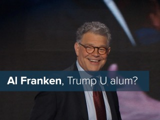 Al Franken's Trump U Comedy Routine at the DNC