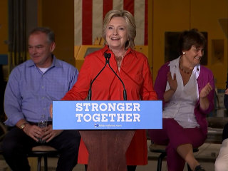 Clinton-Kaine Campaign Rolls Through Pennsylvania