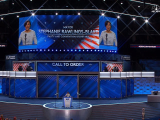 DNC Chair Removed from Schedule, New Opener Welcomed with Cheers