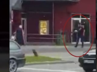 Eyewitness Video Appears to Show Munich Gunman Opening Fire