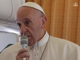 Pope Francis: 'World Is at War'