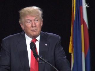 Trump Remarks on Bill Clinton and Loretta Lynch Meeting
