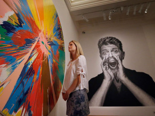 Take a Sneak Peek at David Bowie's Private Art Collection
