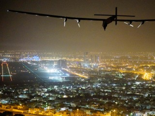 Solar-Powered Plane Completes Round-the-World Flight