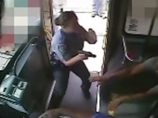 Deadly Officer-Involved Shooting Caught on Security Camera