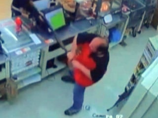 Video Shows Clerk Wrestle Away Shot Gun From Robber