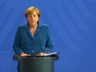 Angela Merkel: Germany 'Mourns with a Heavy Heart'