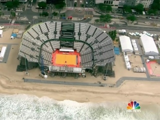 Lester Holt Gives a Tour of the Nightly News Set in Copacabana