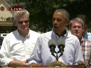 WATCH: President Obama Remarks after Touring Flood Damage