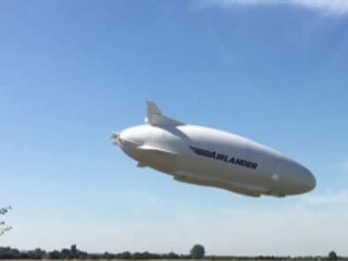 Airlander 10 damaged in rough landing after test flight