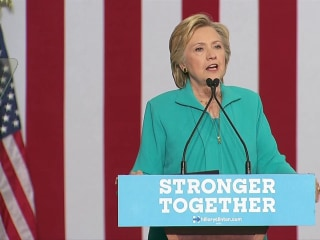 Clinton Reacts to Trump's 'Latest Paranoid Fever Dream'