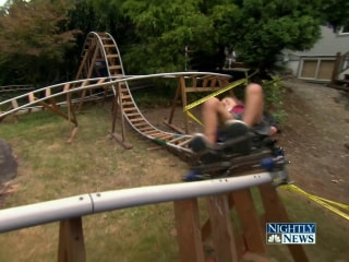 Enjoy the Thrills of a Roller Coaster in Your Own Backyard