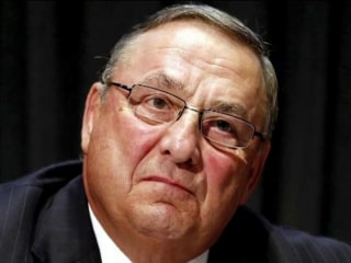 Maine's governor under fire for expletive-filled voicemail