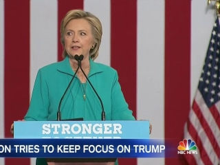 Clinton Receives First Intelligence Briefing as Democratic Presidential Nominee