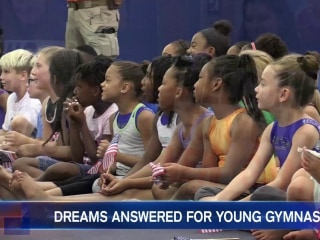 These Gymnasts Got A Big Surprise One Year After a Tornado Destroyed Their Gym