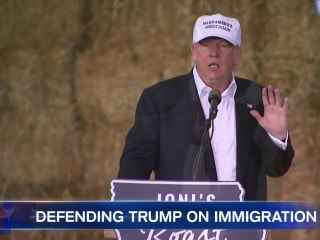 Trump Campaign Struggles To Strike Right Tone on Immigration Policy