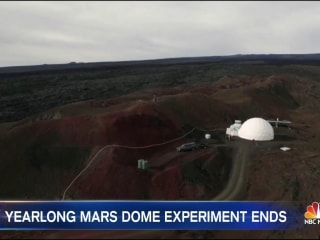 NASA Scientists Return to Civilization After Mars Dome Experiment Ends