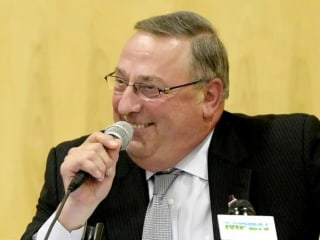 Maine Governor Hints at Resignation Before Discounting the Idea