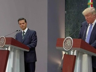 Trump: U.S., Mexico United By Support for Democracy