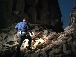 Strong Earthquake Shakes Central Italy