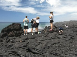 Safety Concerns Rise as Visitors Flock to See Lava Flow in Hawaii