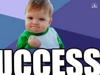 'Success Kid' Saving Lives 7 Years Later
