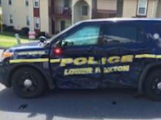 Accused Groper Rams Cop Car