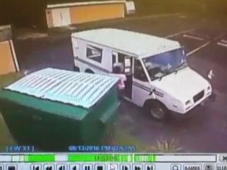 Video Captures Postal Worker Dumping Mail in the Trash