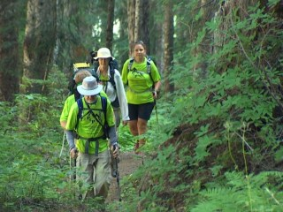 Hikers Travel 72 Miles to Fight Parkinson's