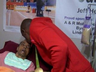 Olympian Makes Heartwarming Homecoming