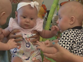 Tennessee Triplets Tip The Scales