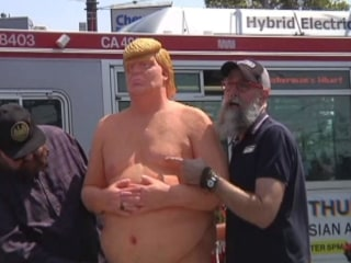 The Man Behind 'Naked Trump'