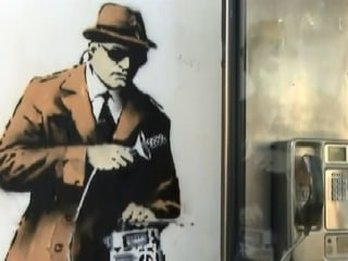 Banksy Street Art Feared Destroyed by Home Renovation