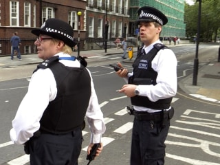 London's Unarmed Bobbies Manage to Keep the Peace