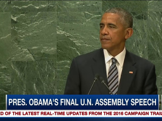 What a Difference 8 Years Make: Obama's Final Speech at UN