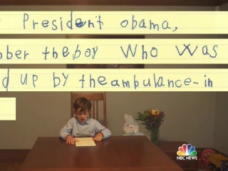Hope From a Pure Heart: Boy's Letter to Obama Goes Viral