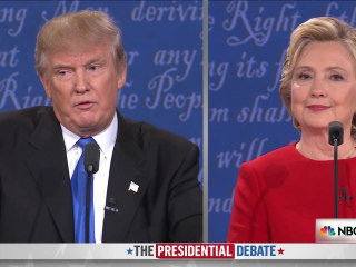 Presidential Debate Part 5: Trump's Comments About Women