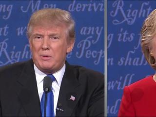Trump Fires Back After Clinton Defends Her Stamina