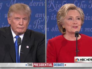 Clinton Criticizes Trump's Comments About Women