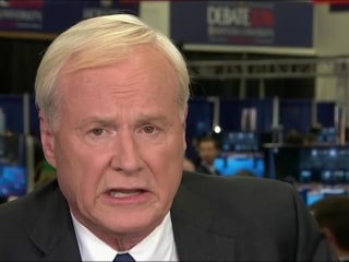 Matthews: First debate 'embarrassing' for Trump