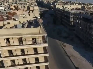 Aerial Views of Devastated Aleppo Seen in Newly-Released Drone Footage