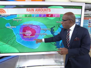 Heavy rains hit East Coast: Expect a 'real soaker,' Roker says