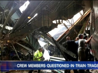 NTSB Begins Questioning Crew Members In Aftermath of NJ Train Disaster