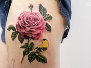 Tattoo Artist Joice Wang Finds Inspiration in Nature, Watercolors