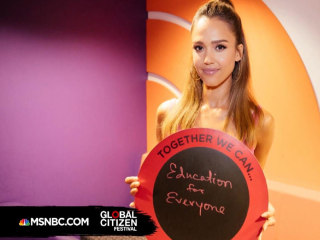 Global Citizen Jessica Alba: Education Empowers Women
