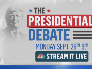 Watch the 2016 Presidential Debate on NBC: Trump and Clinton