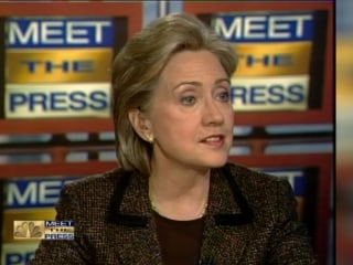 Clinton Slams Trump But Has Spoken About Briefing in 2008