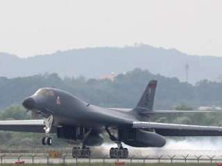 U.S. Bombers Fly Close to N. Korea in Show of Force
