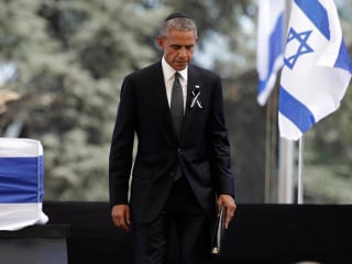 Obama Hails Shimon Peres's Vision for Two-State Solution